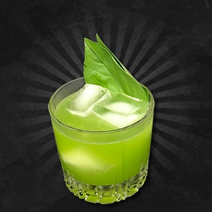 Basil Smash Cocktail