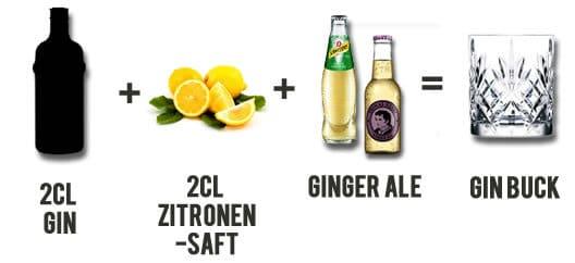 Gin Buck Rezept