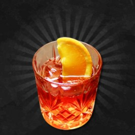 Sloe Gin Negroni