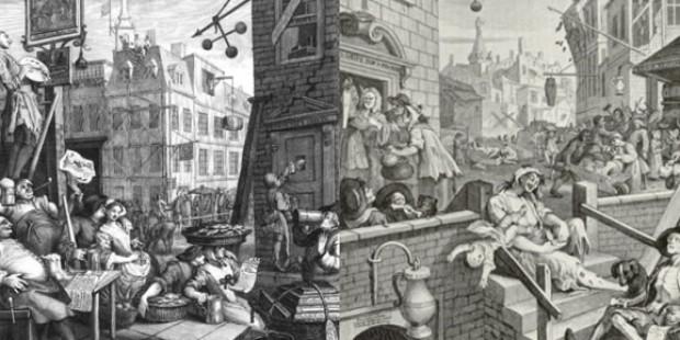 Geschichte des Gins