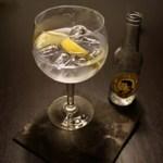 Gin Tonic mit Geranium Gin