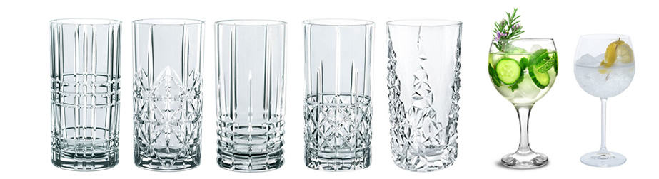 Gin & Tonic Gläser