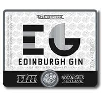 Art-Deco auf dem Label des Edinburg Gins