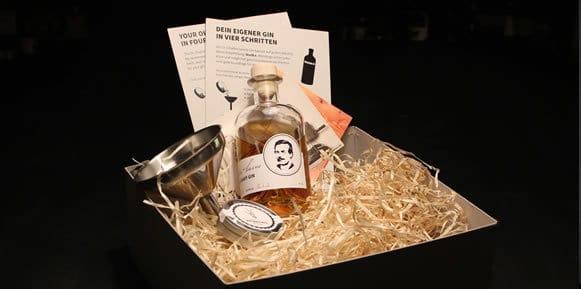 Gin selbst machen mit dem Dr. Charles Levine Gin Kit