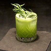 Kiwi Cooler Cocktail