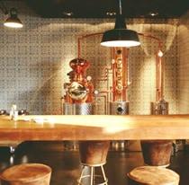 Blick in die Destillerie von Gin Sul