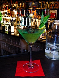 Basil Gimlet Cocktail