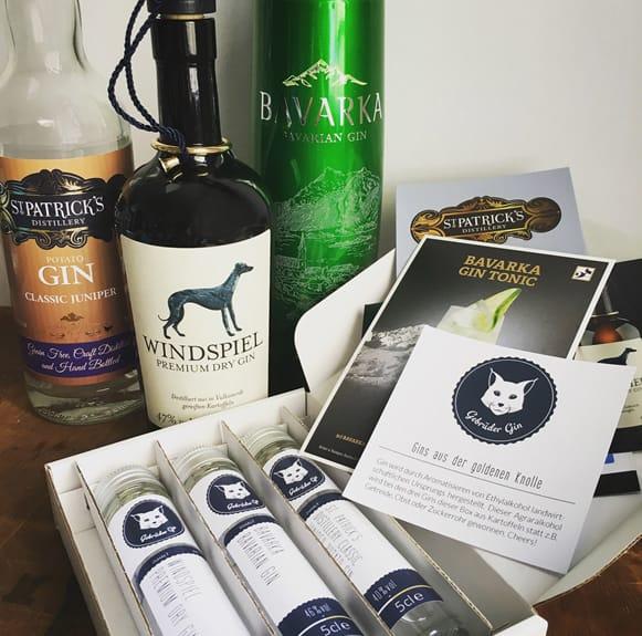 Gin Tastingbox: Gin aus Kartoffeln