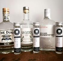 3 Beispiele für Gin aus Deutschland