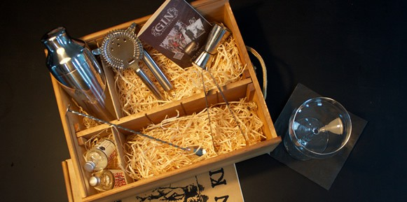 Gin Cocktail Kit der Gin Brothers