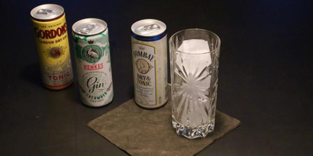 Gin & Tonic aus der Dose