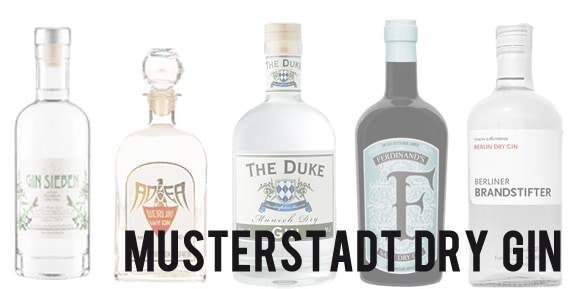 Musterstadt Dry Gin