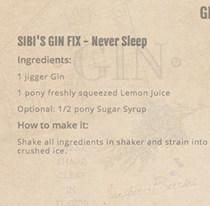Beispiel Cocktailrezept aus dem Gin Passport