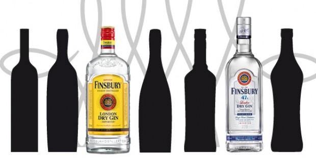 Unterschied Finsbury Gins