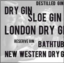 Unterschied zwischen Gin Sorten