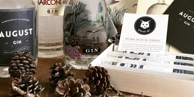 Kieferaromen im Gin