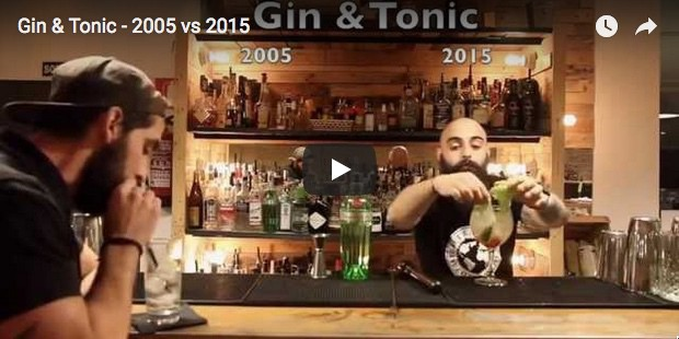 Gin Tonic: 2005 vs. 2015