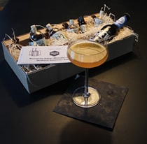 Beispiel für eine Box im Cocktailabo