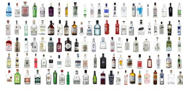 Gin Abos im Vergleich