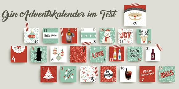 Gin Adventskalender 2019 im Test