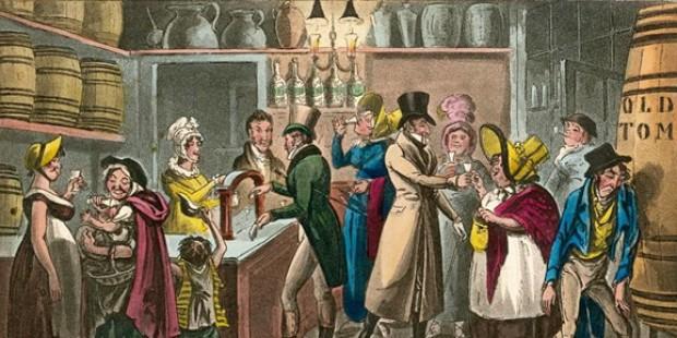 Historische Ginsorte: Cordial Gin