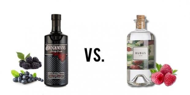 Brockman's Gin & Rubus Gin im Vergleich