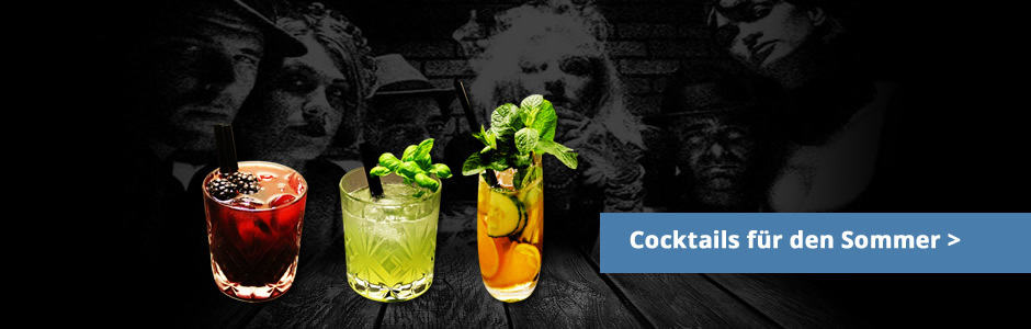 Sommer-Gin-Cocktails