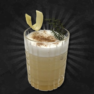 Spiced Pumpkin Gin Sour