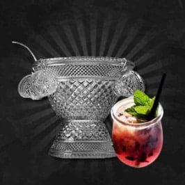 Gin Punch: Ginfloeckchen
