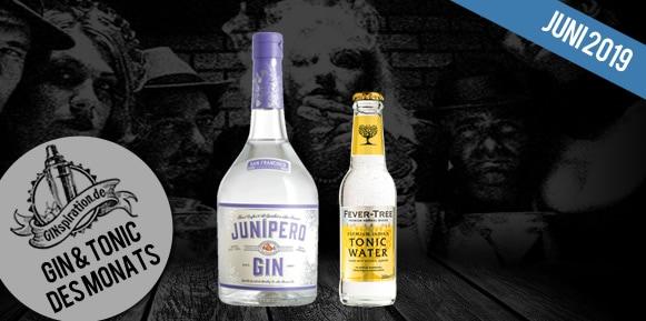 Gin & Tonic des Monats: Junipero + Fever Tree Tonic Water