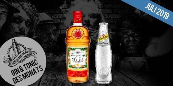 Gin & Tonic des Monats: Tanqueray Flor de Sevilla + Schweppes Dry Tonic Water