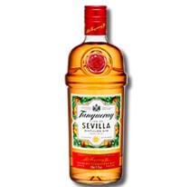 Flaschendesign des Tanqueray Flor de Sevilla