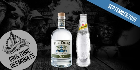 Gin & Tonic des Monats: The Duke Munich Dry Gin & Schweppes Dry