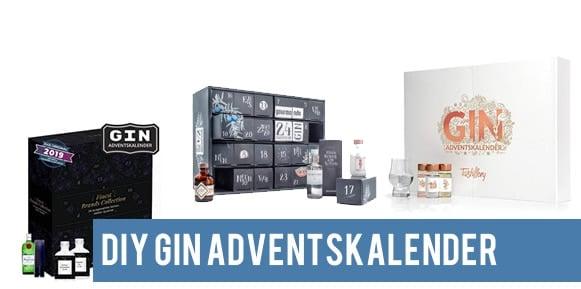 Gin Adventskalender basteln