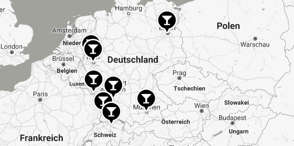Spirituosenläden in Deutschland
