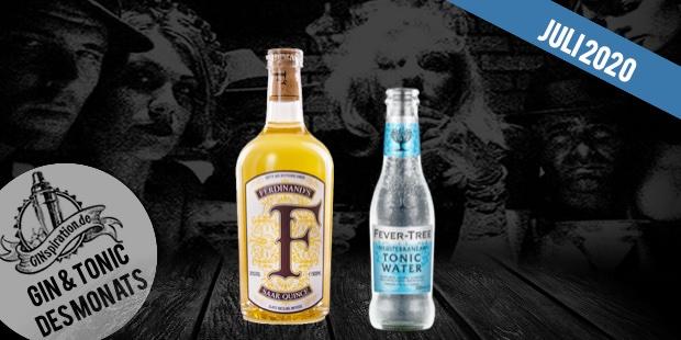 Gin & Tonic des Monats – Ferdinand's Quice & Fever Tree Mediterranean