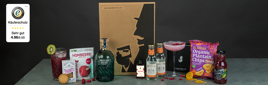 Gin im Abo erhalten mit Liquid Director