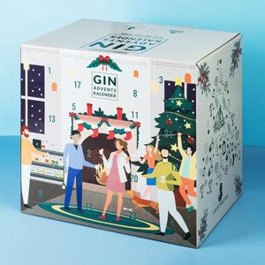 Gin Adventskalender 2021 von Liquid Director & GINspiration.de