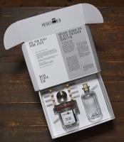 Private Gin Box aufgeklappt